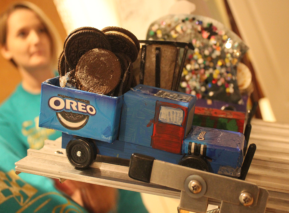 Oreo Cookies themed car at Civitan Race Day
