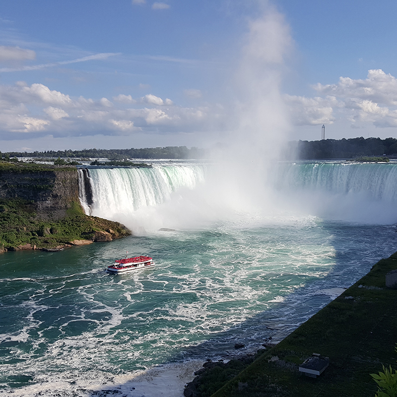 Niagra Falls from American side