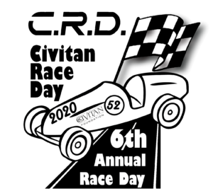 Logo for 6th Annual Civitan Race Day.